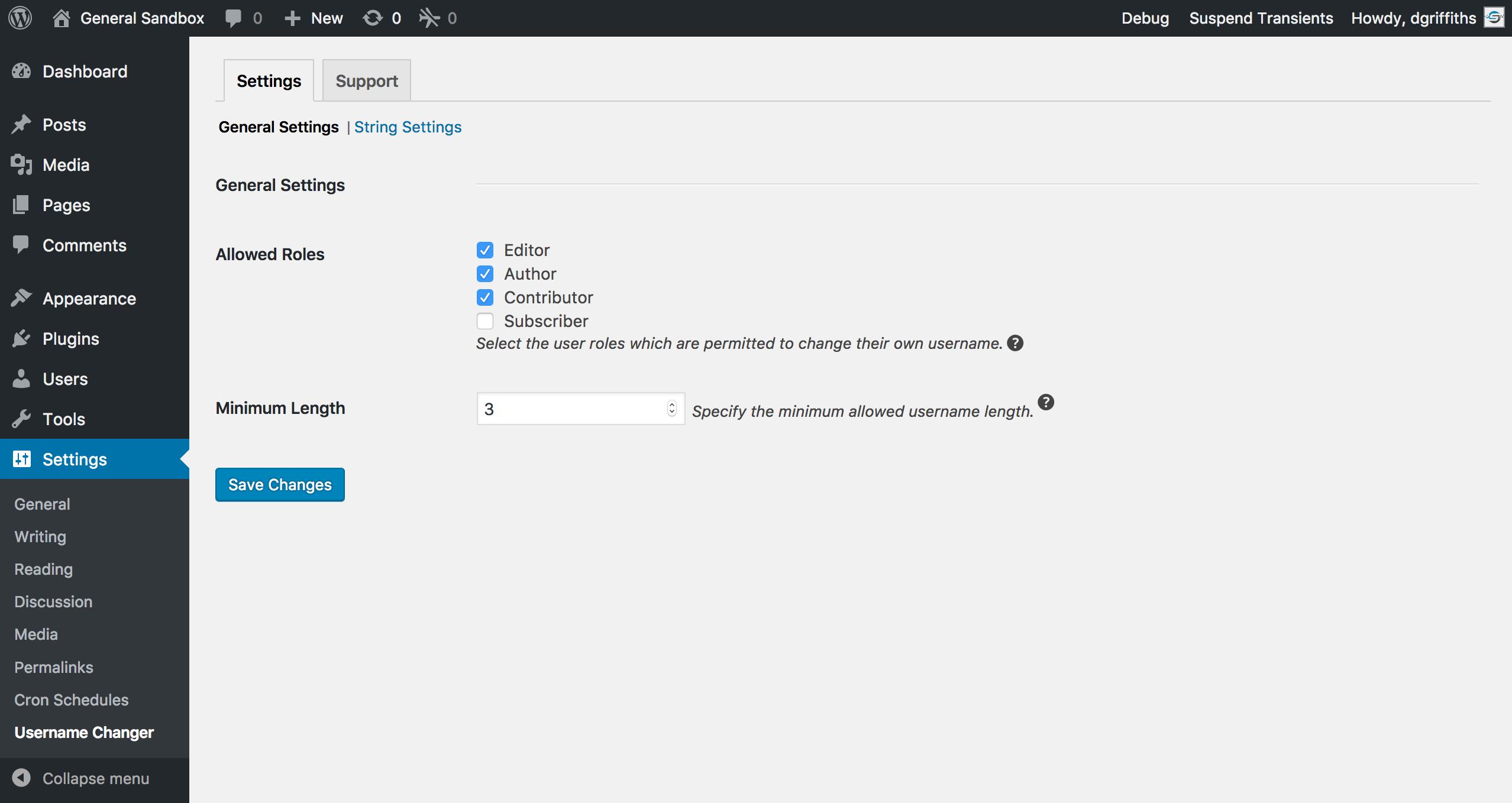 Download Username Changer 3.1.3 – Free WordPress Plugin