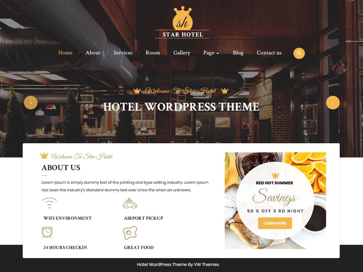 Download VW Hotel 0.1 – Free WordPress Theme
