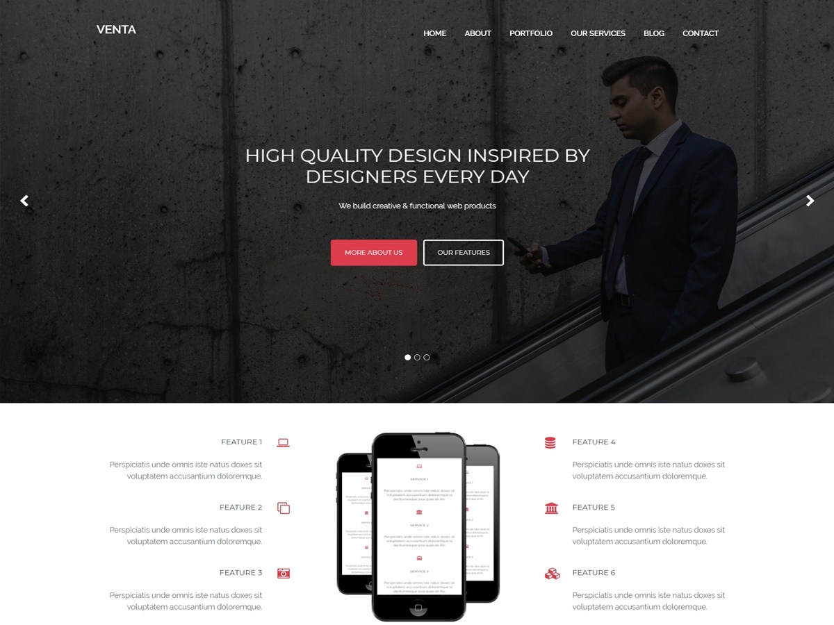 Download Venta 1.0.7 – Free WordPress Theme