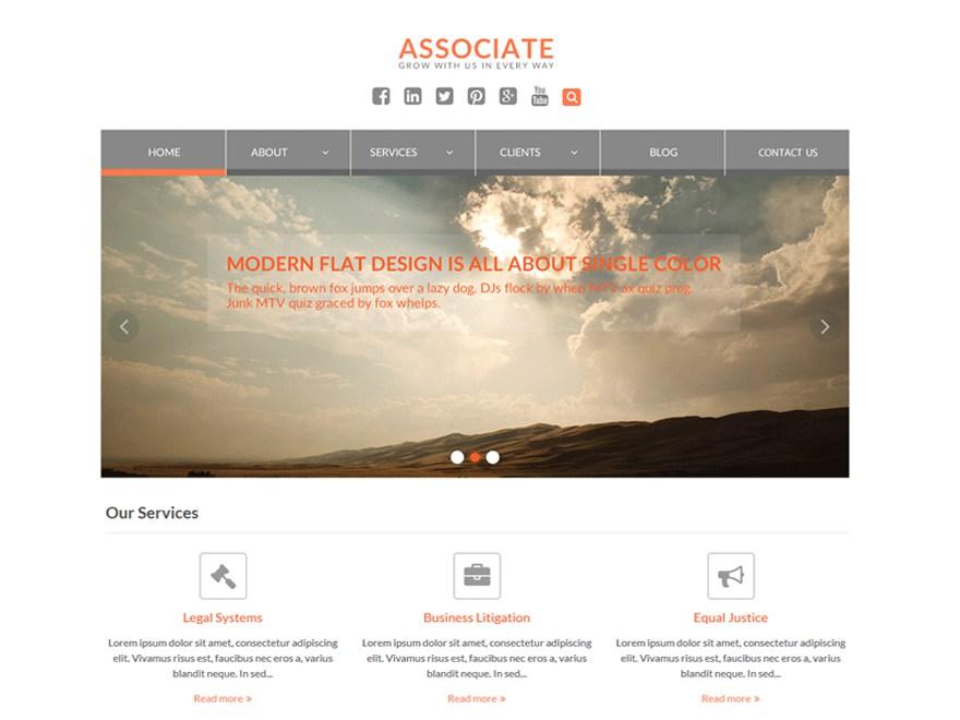 Download WEN Associate 1.9.5 – Free WordPress Theme