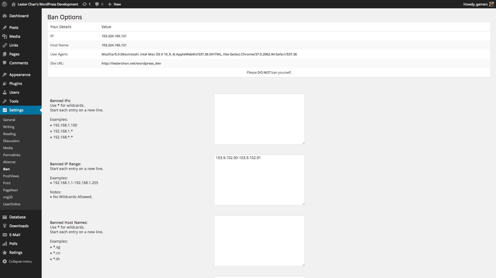 Download WP-Ban 1.69 – Free WordPress Plugin