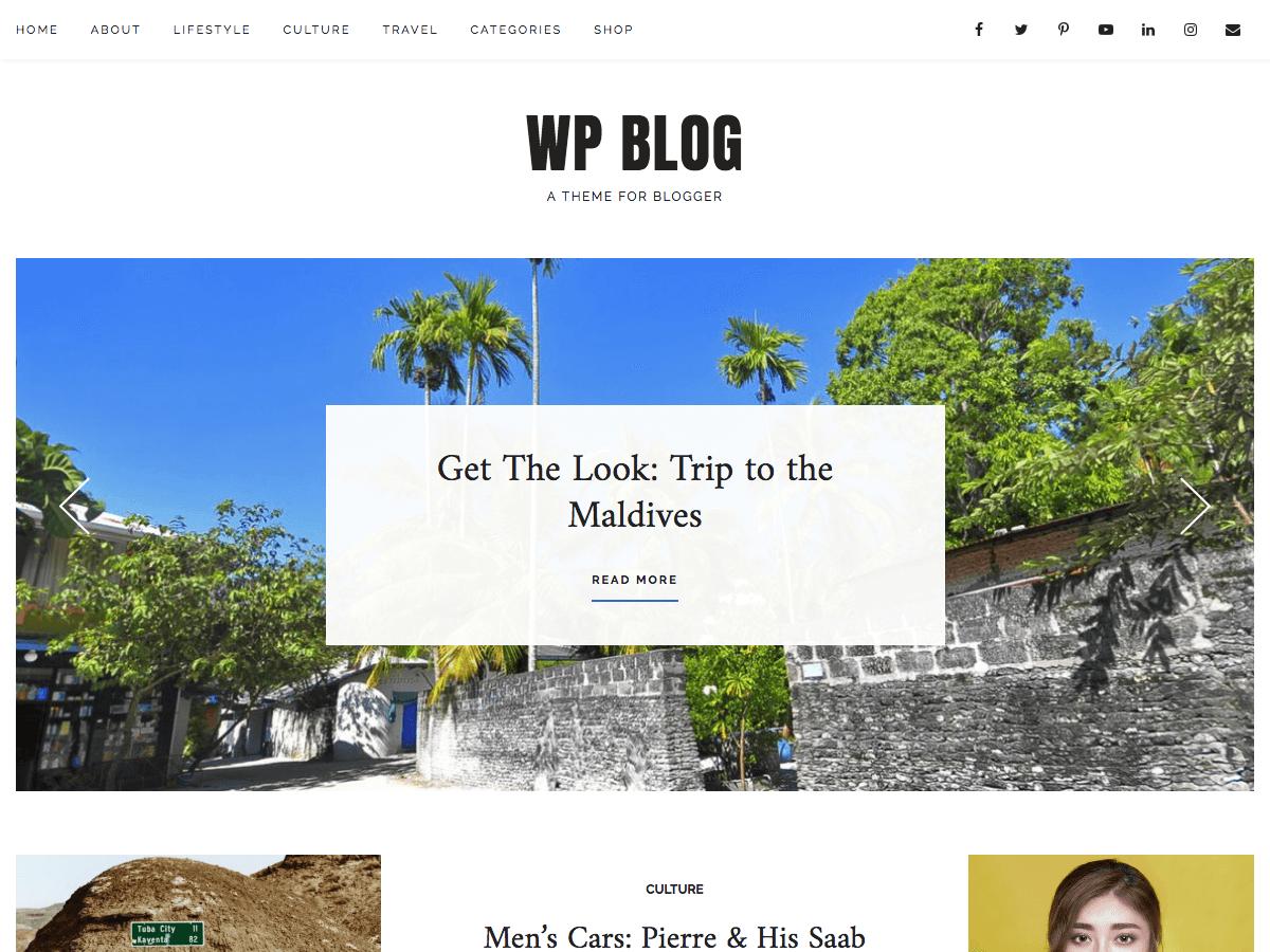 Download WP Blog 0.0.4 – Free WordPress Theme