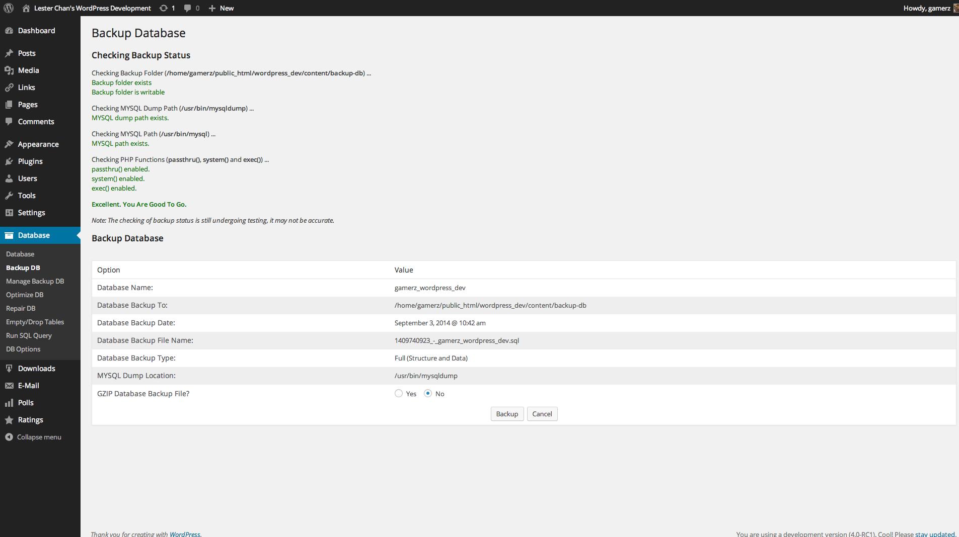 Download WP-DBManager 2.79.1 – Free WordPress Plugin