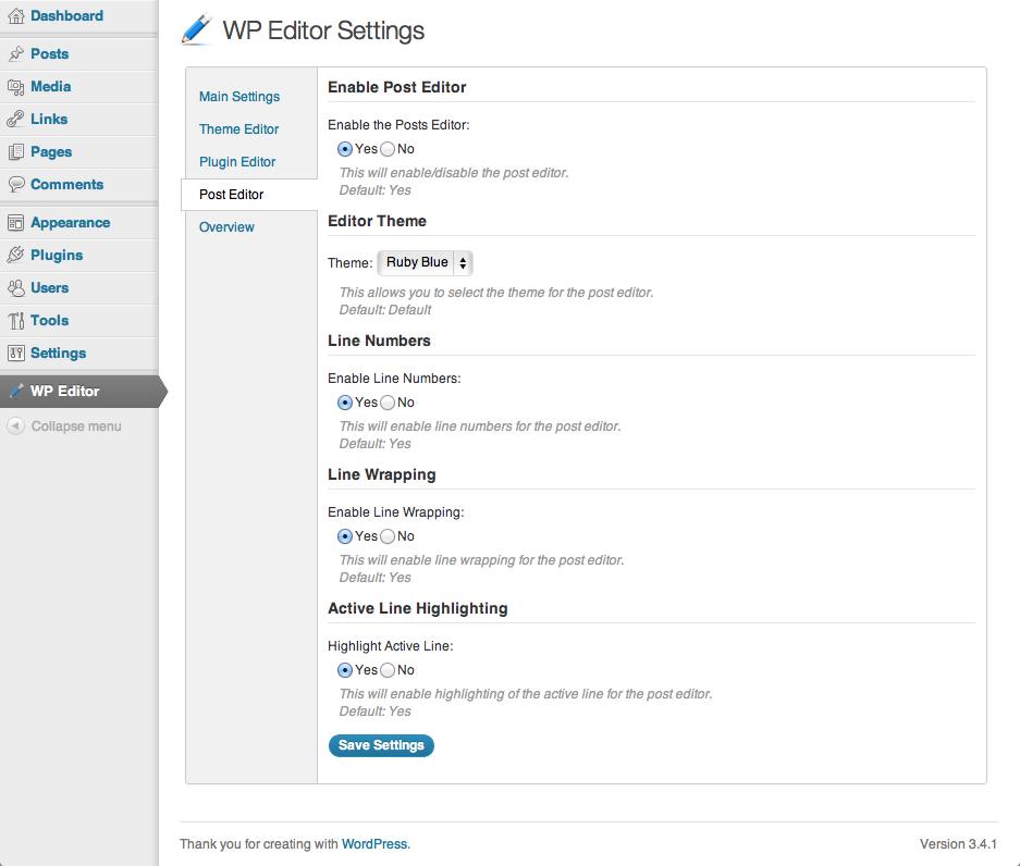 Download WP Editor 1.2.6.3 – Free WordPress Plugin