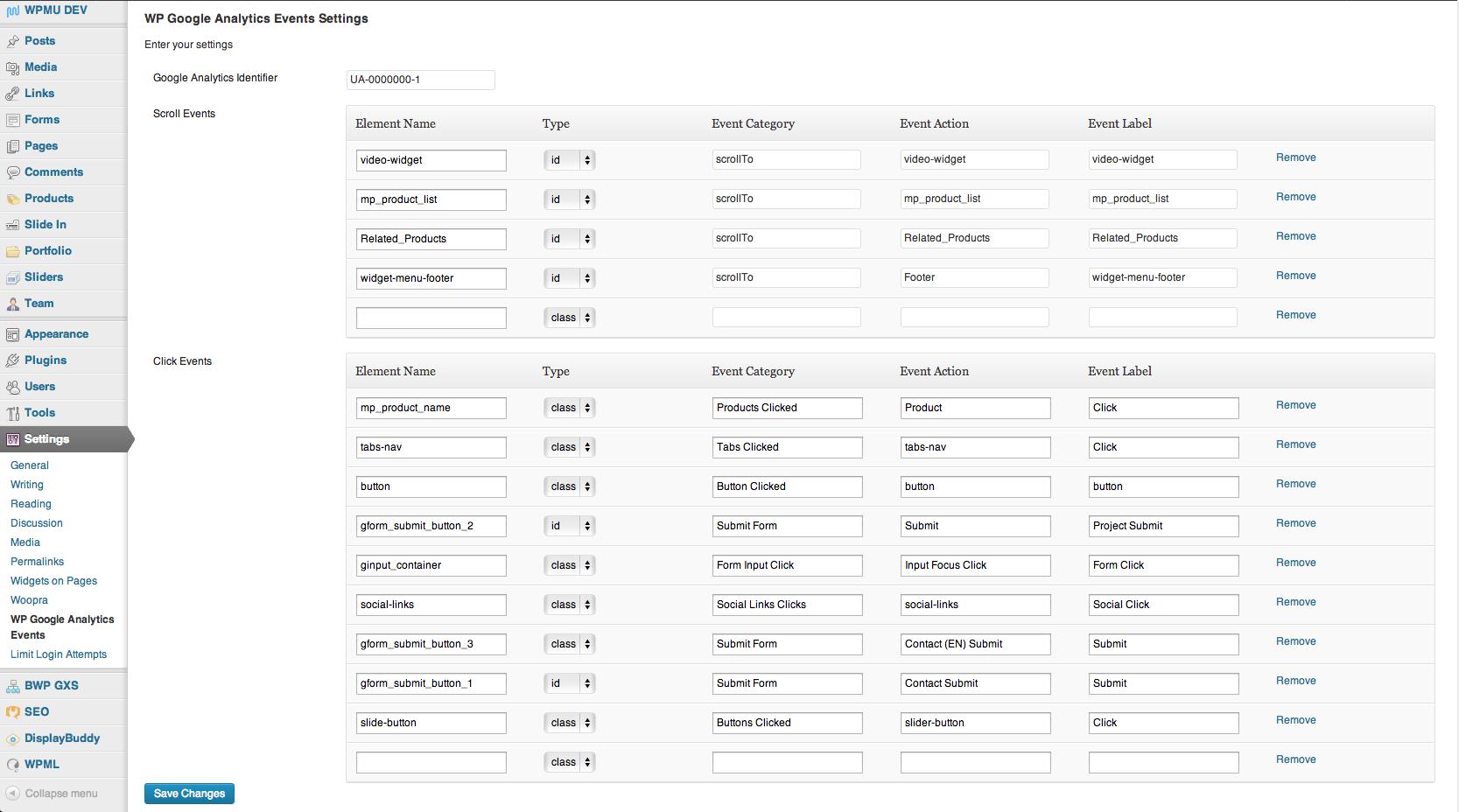 Download WP Google Analytics Events 2.5.1 – Free WordPress Plugin
