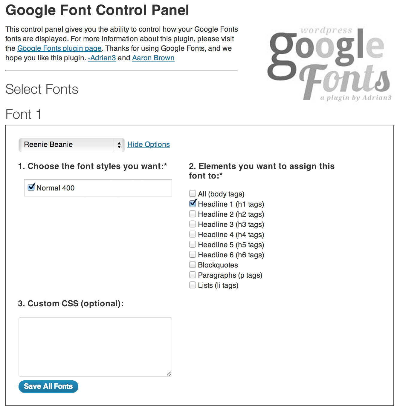 Download WP Google Fonts v3.1.4 – Free WordPress Plugin