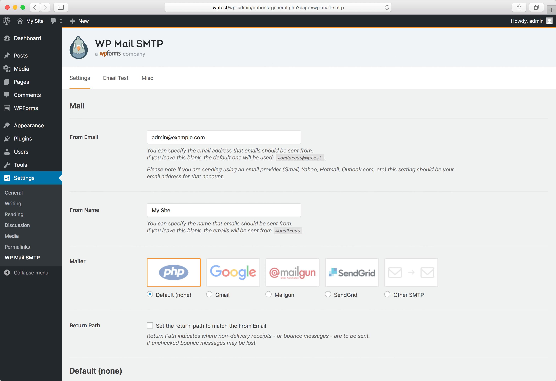 Download WP Mail SMTP by WPForms 1.3.3 – Free WordPress Plugin