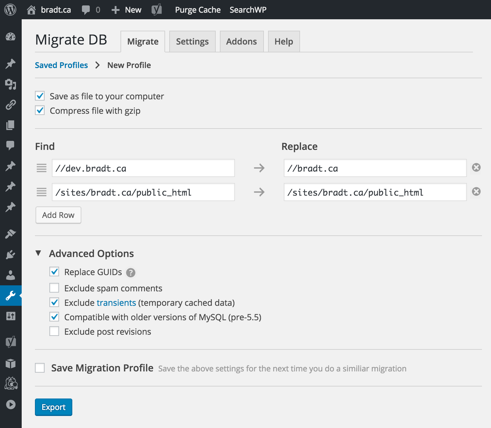 Download WP Migrate DB 1.0.4 – Free WordPress Plugin