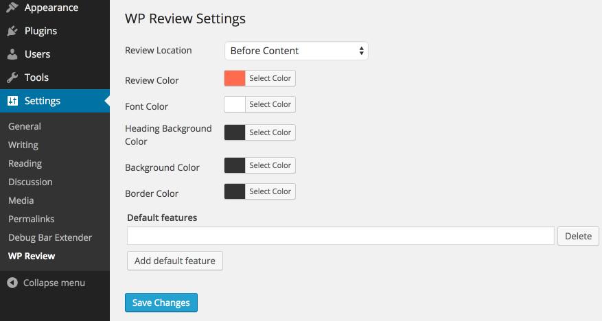 Download WP Review 5.0.8 – Free WordPress Plugin