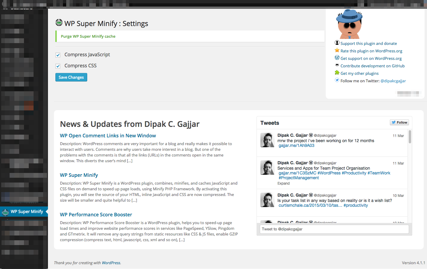 Download WP Super Minify 1.5.1 – Free WordPress Plugin