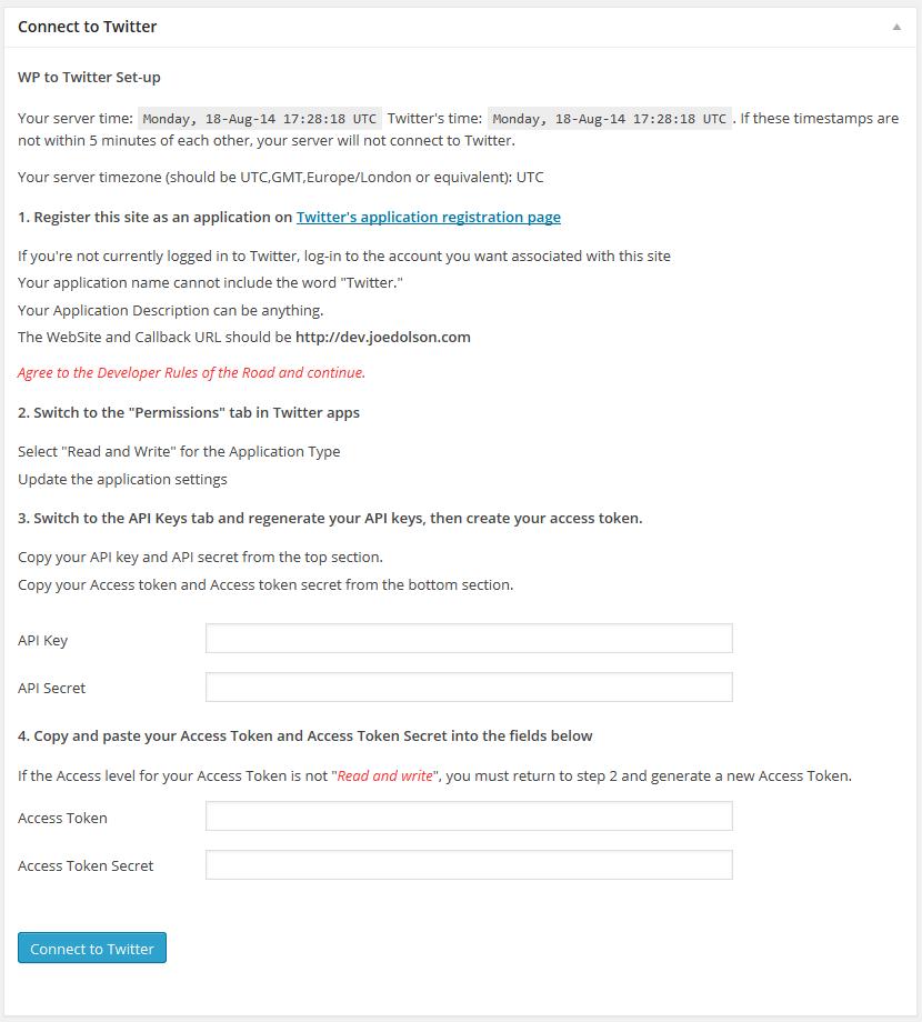 Download WP to Twitter 3.3.9 – Free WordPress Plugin