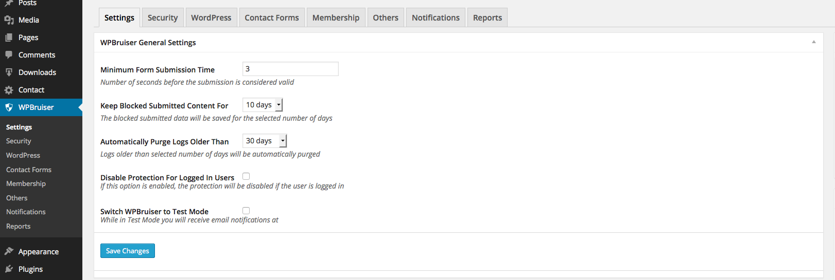 Download WPBruiser {no- Captcha anti-Spam} 3.1.21 – Free WordPress Plugin