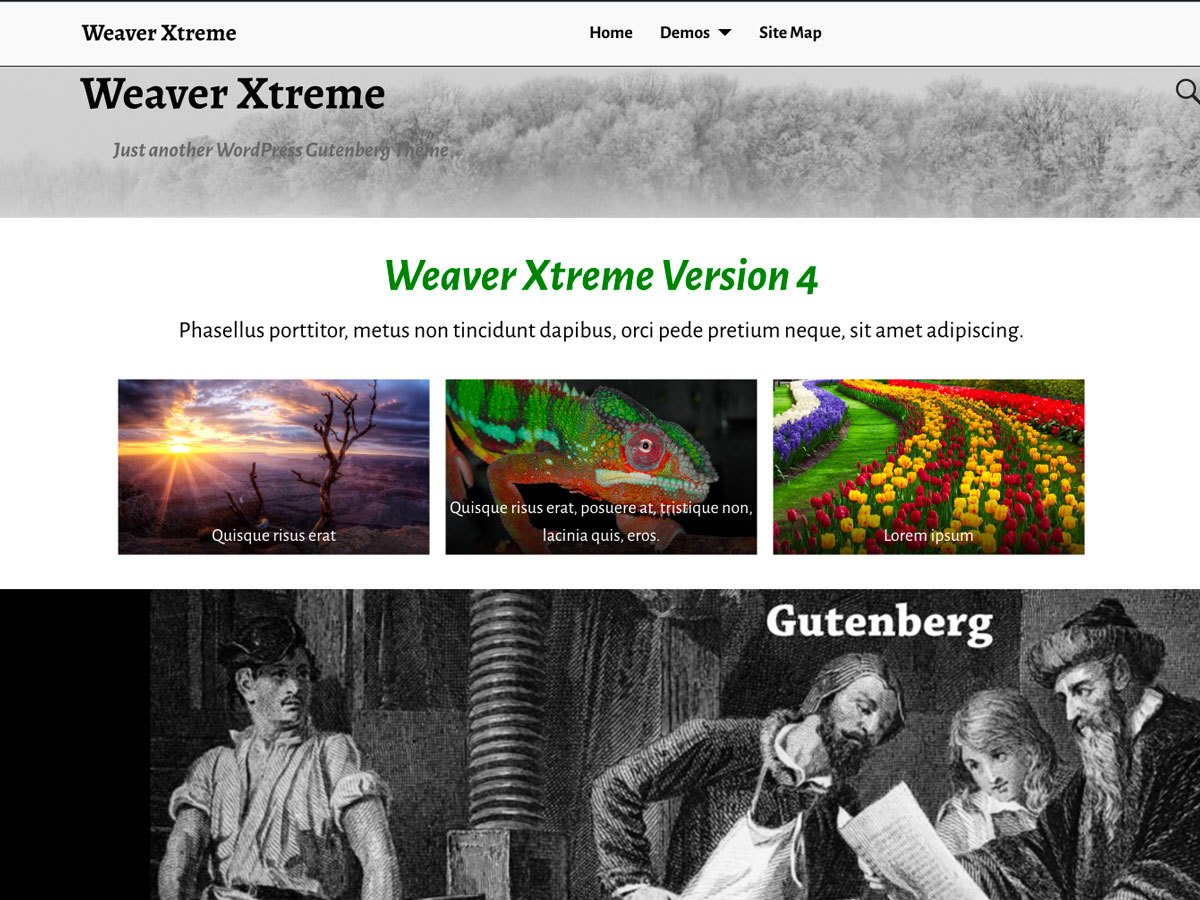 Download Weaver Xtreme 4.0.9 – Free WordPress Theme