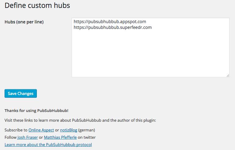 Download WebSub/PubSubHubbub 3.0.1 – Free WordPress Plugin