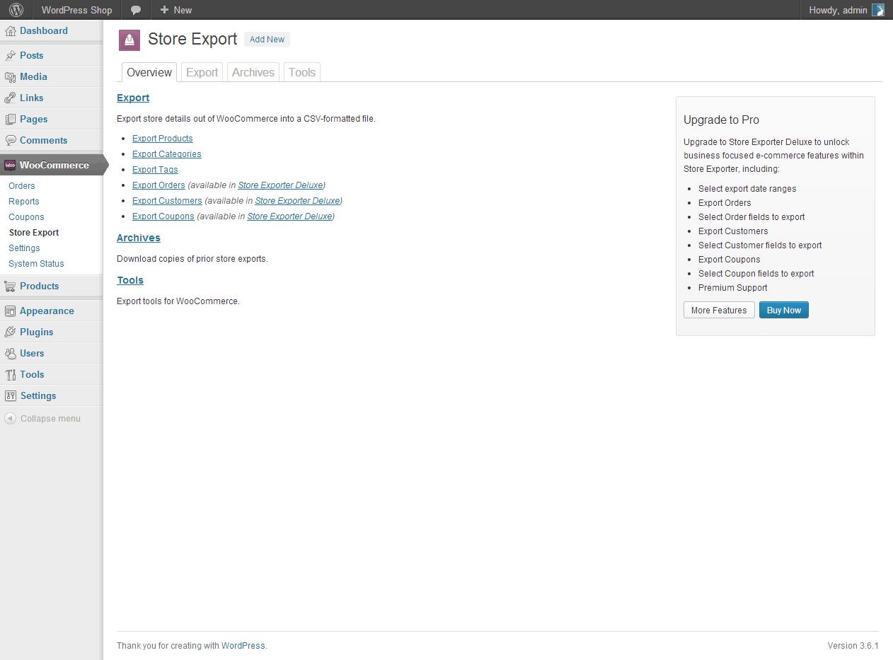 Download WooCommerce – Store Exporter 2.0.2 – Free WordPress Plugin