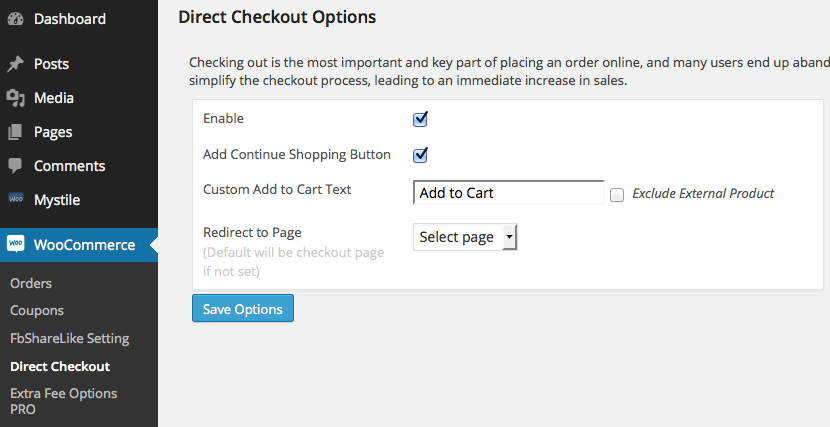 Download WooCommerce Direct Checkout 1.1.2 – Free WordPress Plugin