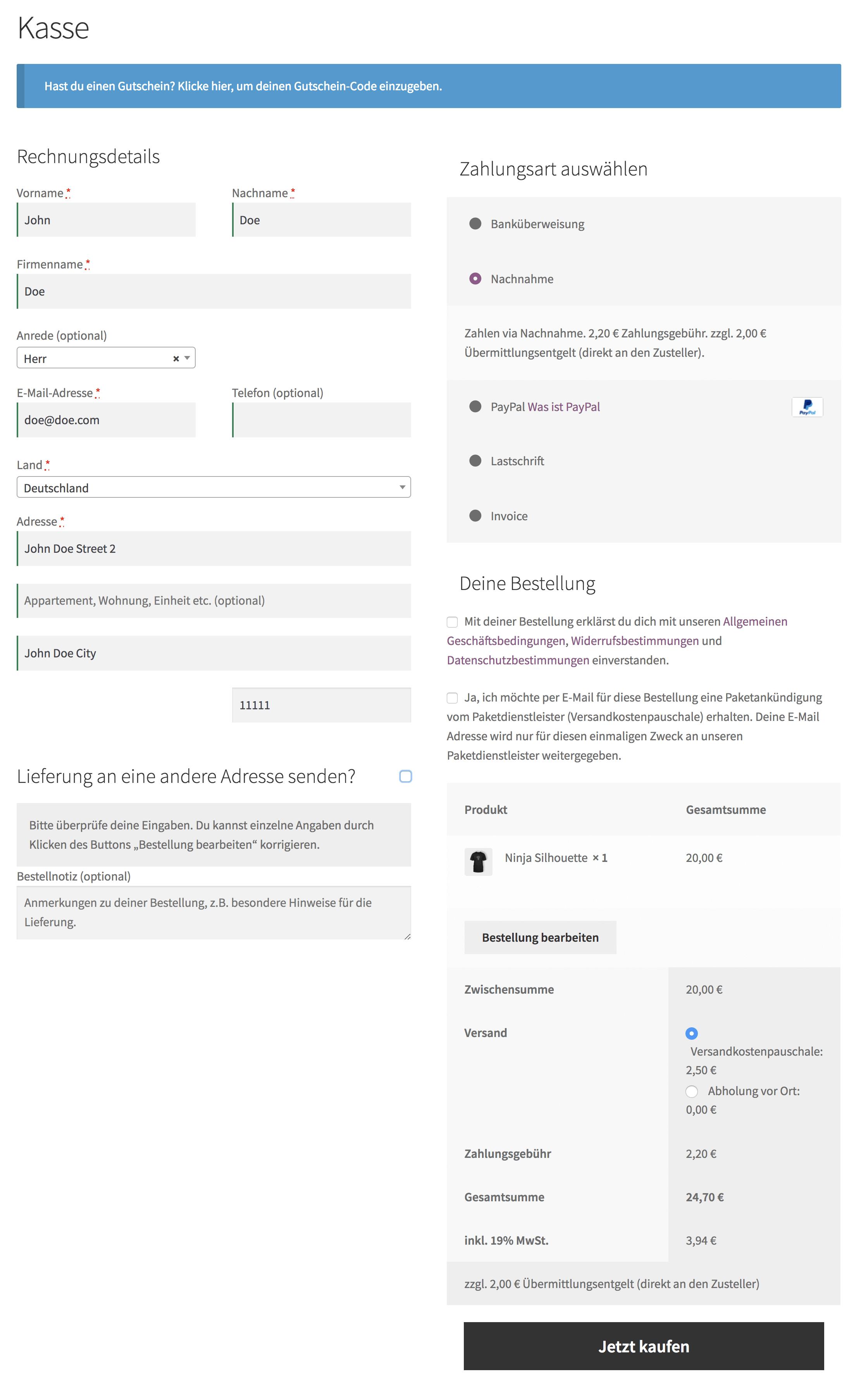 Download WooCommerce Germanized 2.2.1 – Free WordPress Plugin