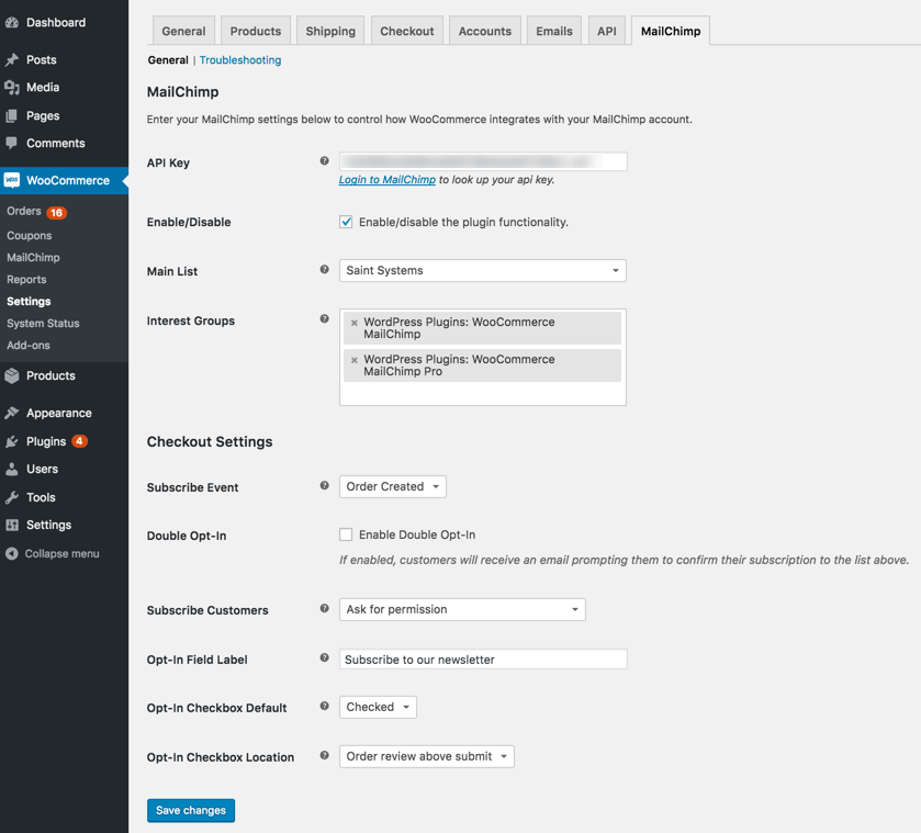 Download WooCommerce MailChimp 2.1.12 – Free WordPress Plugin