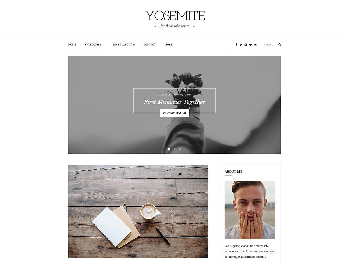 Download Yosemite Lite 1.0.3 – Free WordPress Theme
