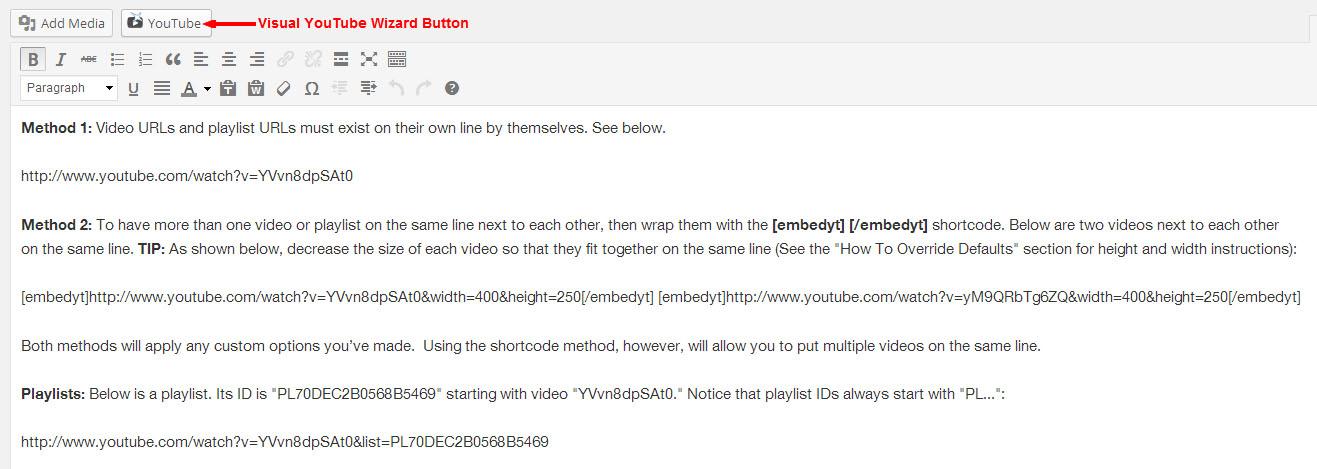 Download YouTube 12.1 – Free WordPress Plugin