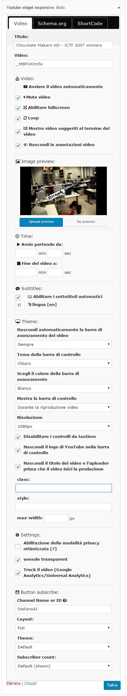 Download Youtube Widget Responsive 1.4.1 – Free WordPress Plugin