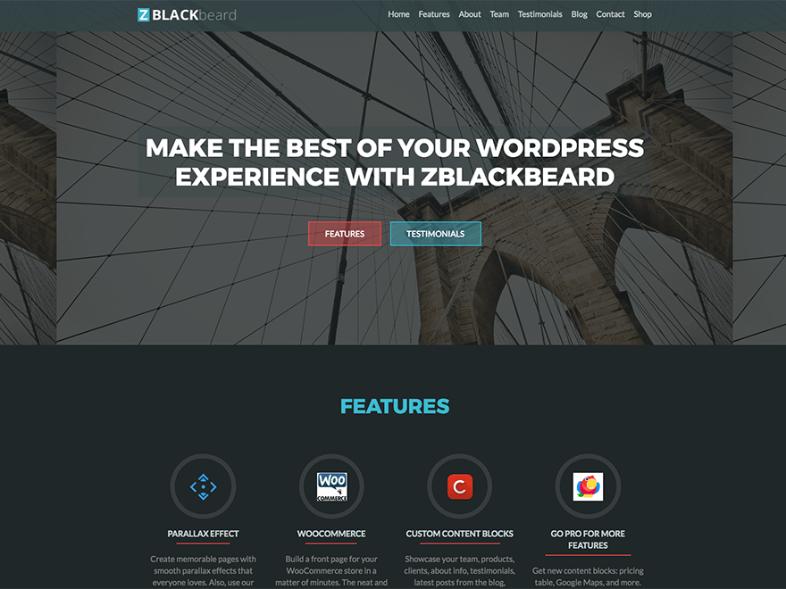 Download ZBlackbeard 1.0.10 – Free WordPress Theme