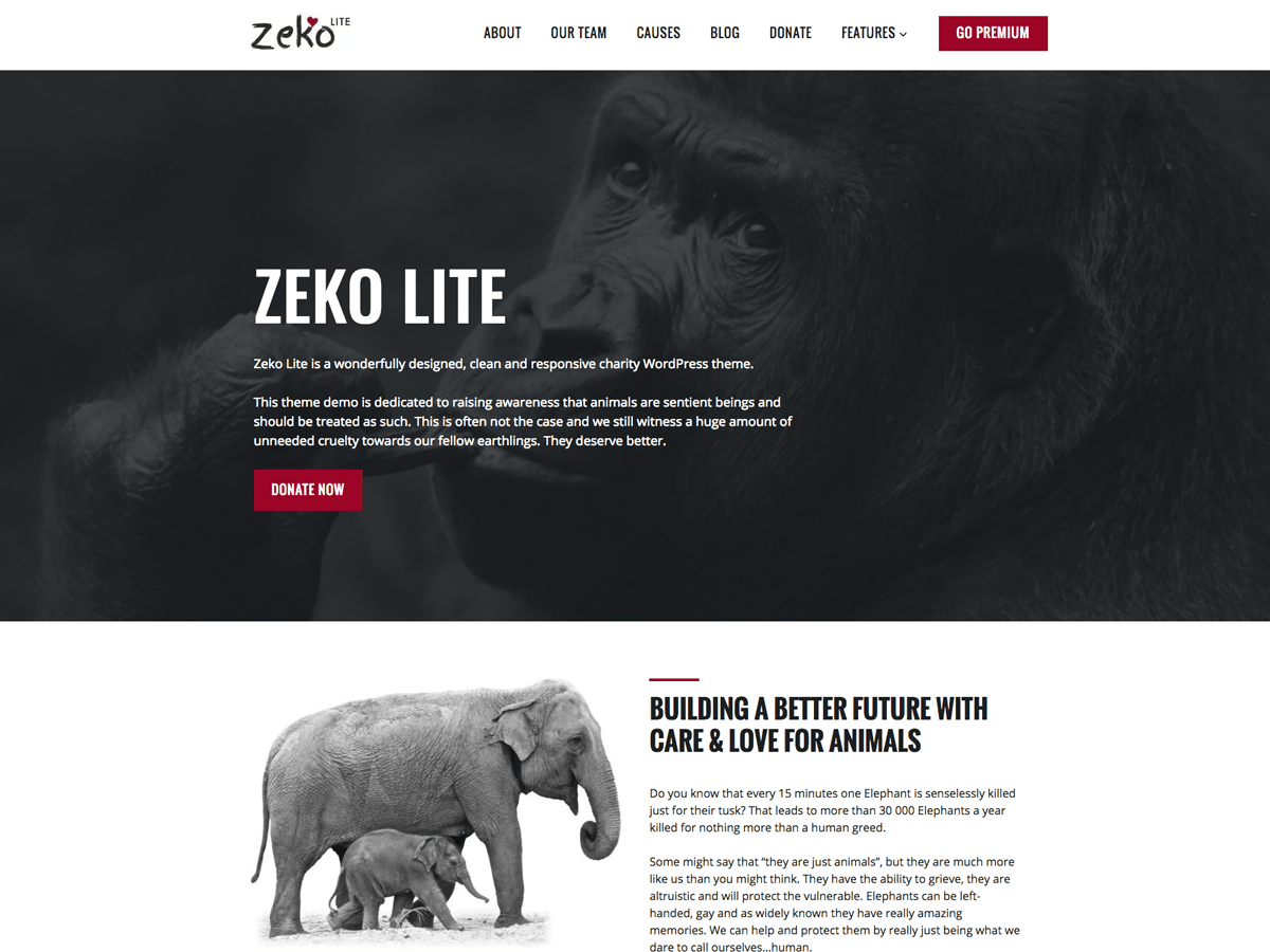 Download Zeko Lite 1.1.6 – Free WordPress Theme