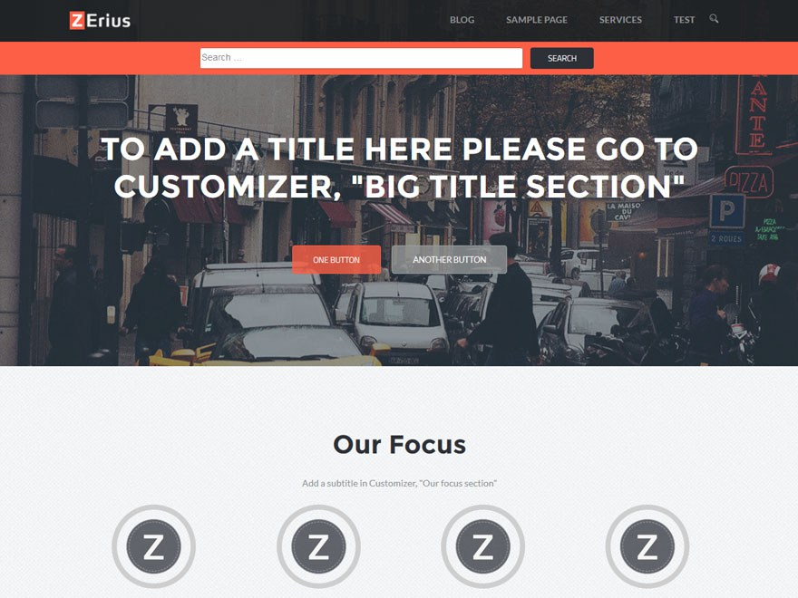 Download Zerius 1.0.10 – Free WordPress Theme