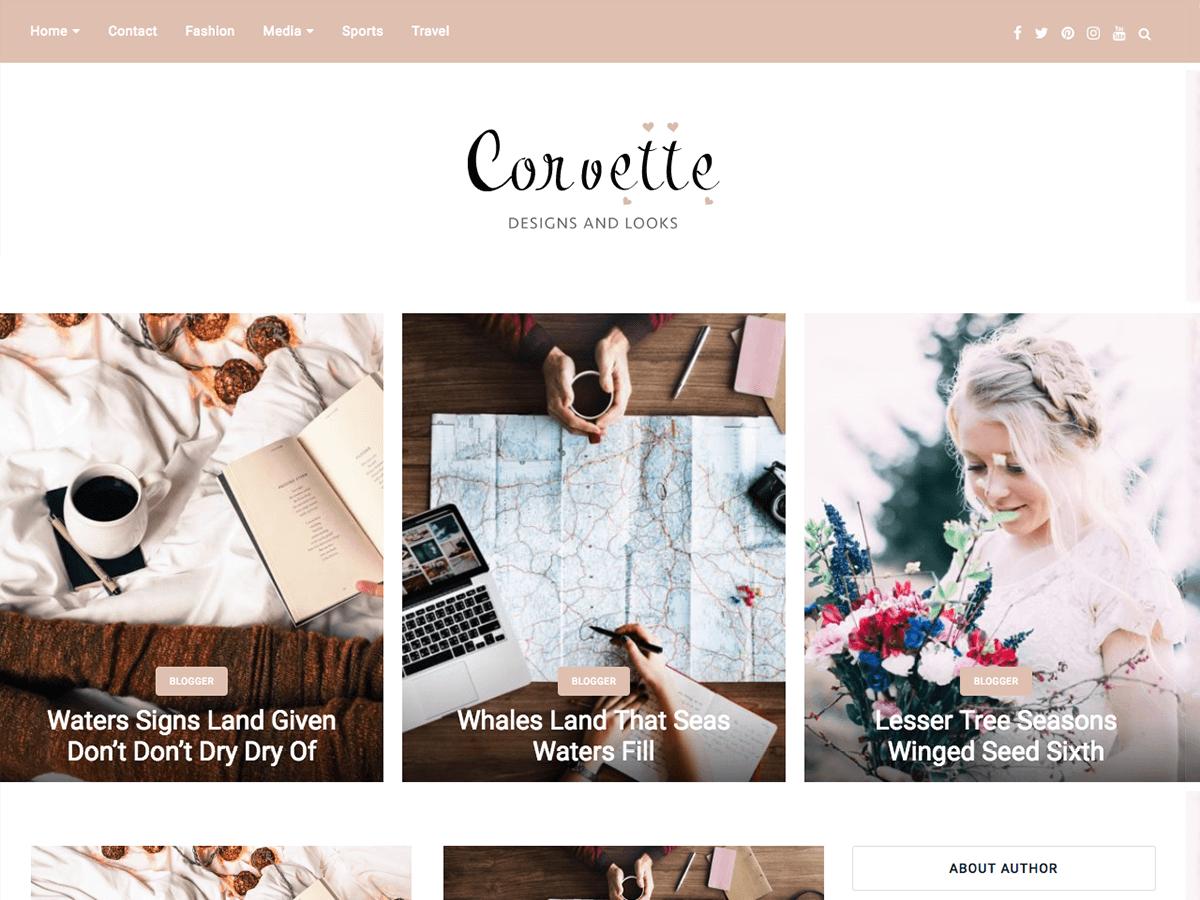 Download corvette 1.4 – Free WordPress Theme