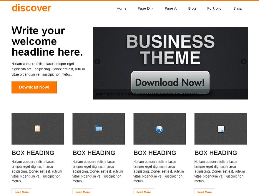 Download discover 1.7.30 – Free WordPress Theme