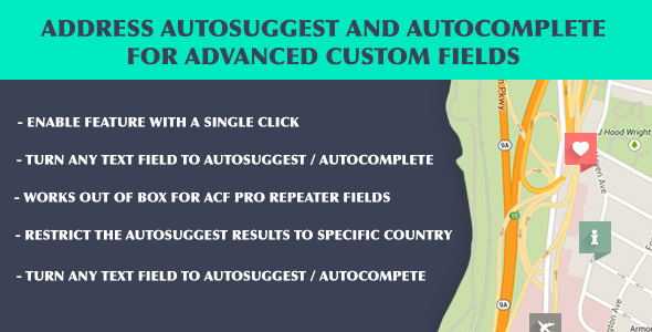Download ACF Address Autosuggest and Autocomplete  - Free Wordpress Plugin