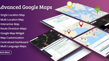 Download Advanced Google Maps  - Free Wordpress Plugin