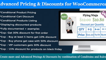 Download Advanced WooCommerce Dynamic Pricing & Discounts  - Free Wordpress Plugin
