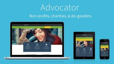 Download Advocator v.2.5 - Nonprofit & Charity Responsive WordPress Theme Free