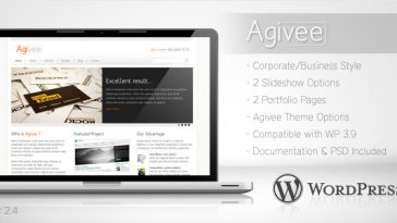 Download Agivee - Corporate Business Wordpress Theme Free
