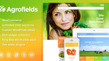 Download Agrofields v.4.7.2 - Food Shop & Grocery Market WP Theme Free