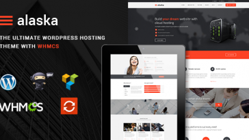 Download Alaska v.4.0.1 - SEO WHMCS Hosting, Shop & Business WordPress Theme Free