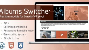 Download AlbumsSwitcher v1.5 Gallery Module for Gmedia plugin - Free Wordpress Plugin