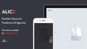 Download Alice - Agency & Freelance Portfolio Theme Free