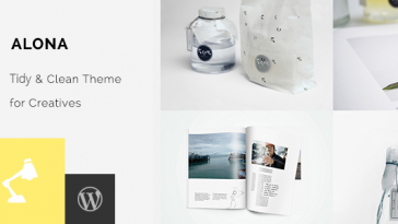 Download Alona - Tidy & Clean Portfolio Free