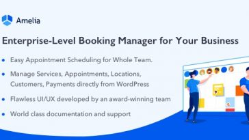 Download Amelia Enterprise-Level Appointment Booking WordPress Plugin - Free Wordpress Plugin