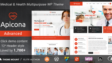 Download Apicona v.7.2. - Health & Medical WordPress Theme Free