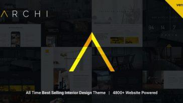 Download Archi - Interior Design WordPress Theme Free