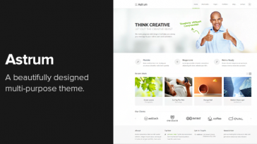 Download Astrum v.3.0.3 - Responsive Multi-Purpose WordPress Theme Free