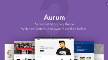 Download Aurum v.3.4.5 - Minimalist Shopping Theme Free