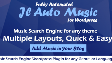 Download Auto Mp3 Music Search Engine Wordpress Plugin  - Free Wordpress Plugin