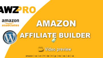 Download Awzpro Amazon Affiliate Builder - Free Wordpress Plugin