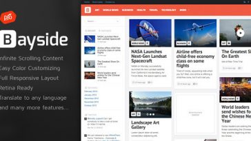 Download Bayside v.4.3 - Responsive WordPress Theme Free