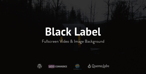 Download Black Label v.3.4.5 - Fullscreen Video & Image Background Free