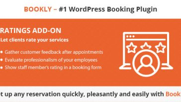 Download Bookly Ratings (Add-on)  - Free Wordpress Plugin